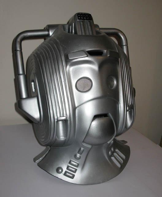 Full Size Replica Prop Cyberman Helmet To Be Won The